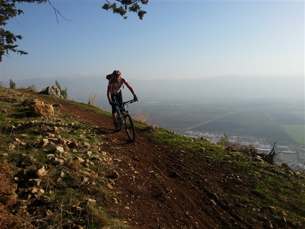 Naftali Mountains Single Track
